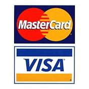 Paiement par VISA et Mastercard